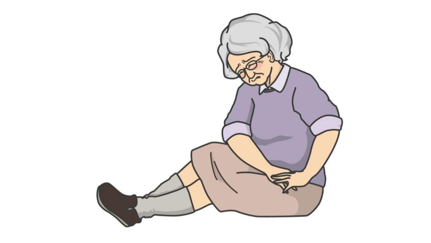 頸 部 骨 骨折 大腿