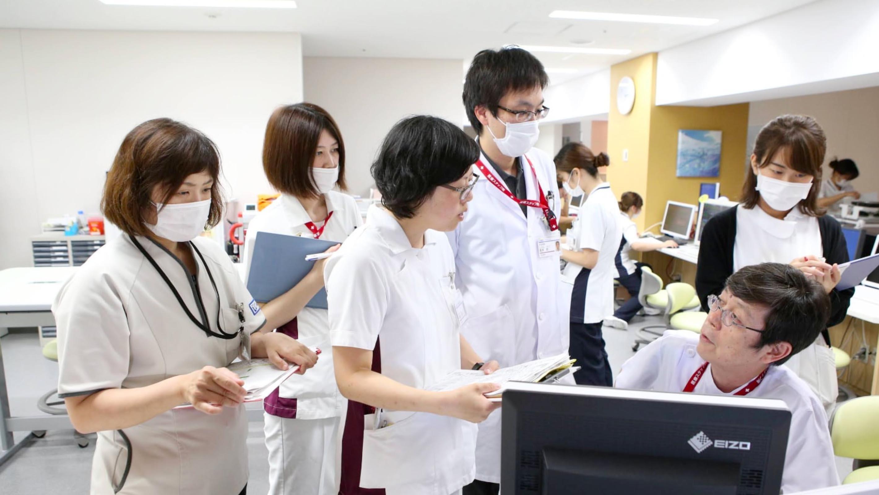 ガラガラ 病院